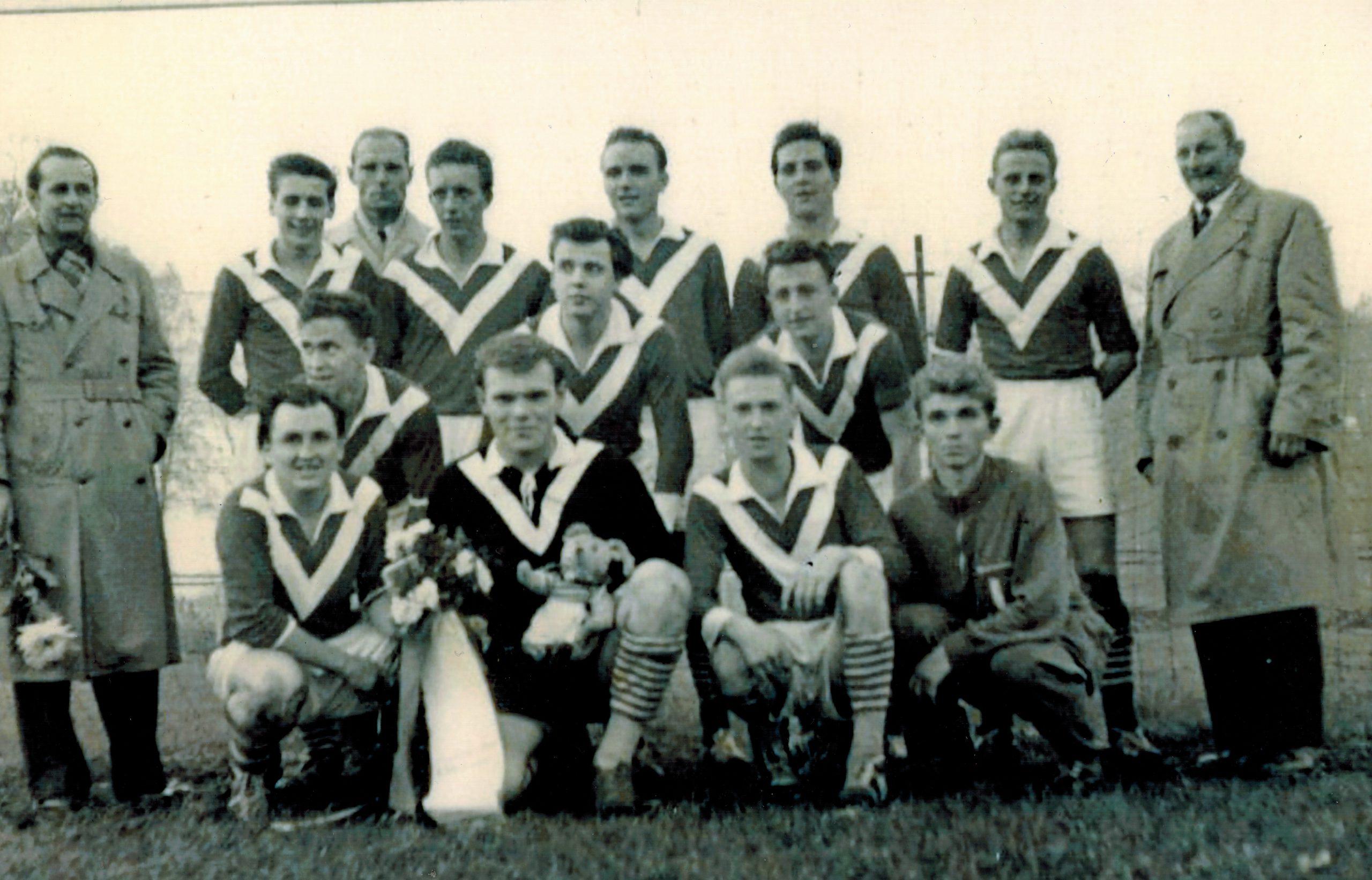 1957: Aufstieg in die Bezirksliga